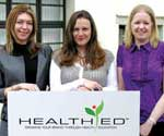 Victoria Buyer, Clare Mills and Joanne Parker - HealthEd