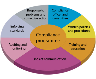 Framework for compliance programme (based on US Office of Inspector General Guidance)