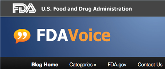 US Food and Drug Administration's FDA Voice blog