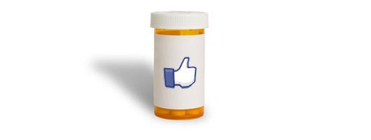 Facebook like pill jar