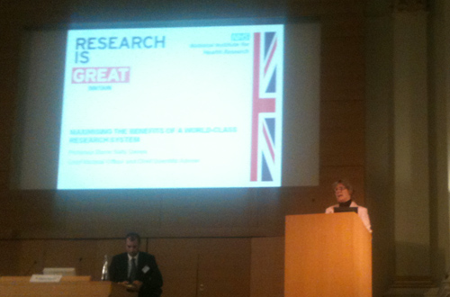 Dame Sally Davies ABPI BIA NOCRI conference