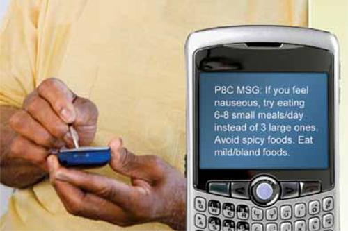 Sanofi SMS chemotherapy compliance