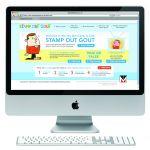 Stamp Out Gout (Disease Awareness)