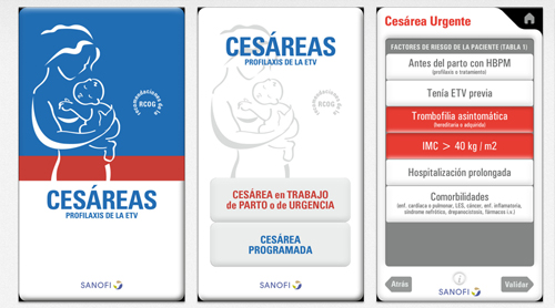 Sanofi Clexane iPhone app