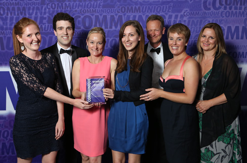 Communique 2013 winner small consultancy