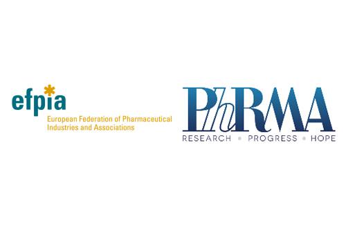 EFPIA PhRMA logos