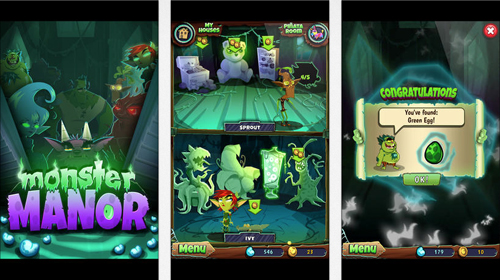 Sanofi diabetes game Monster Manor iPhone Android app