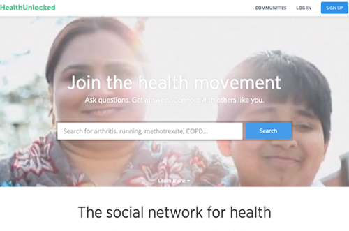 HealthUnlocked health social network
