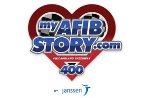 Janssen Afib NASCAR