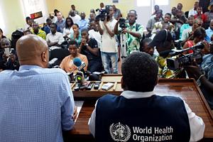 who ebola