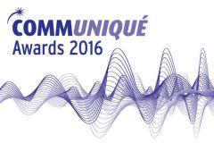 Finalists revealed for Communiqué Awards 2016