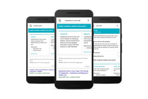 Google symptom search