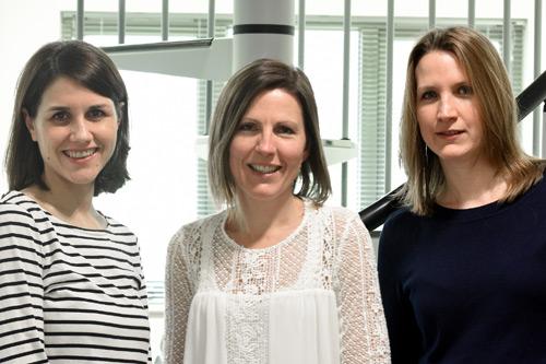 Cuttsy+Cuttsy Jill Bradshaw, Charlotte Diggins and Dr Liz Walder
