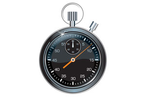 An image of a stopwatch