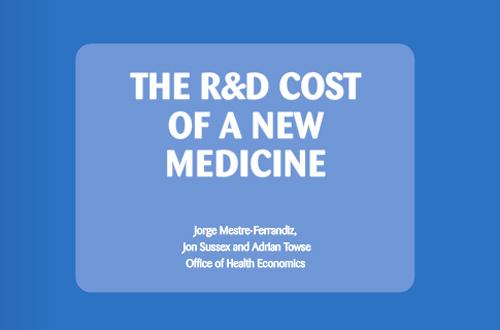 R&D Cost of a New Medicine