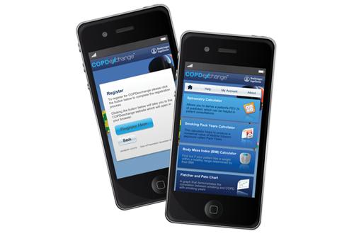 Boehringer Ingelheim COPD smartphone app
