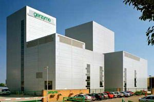 Genzyme manufacturing facility