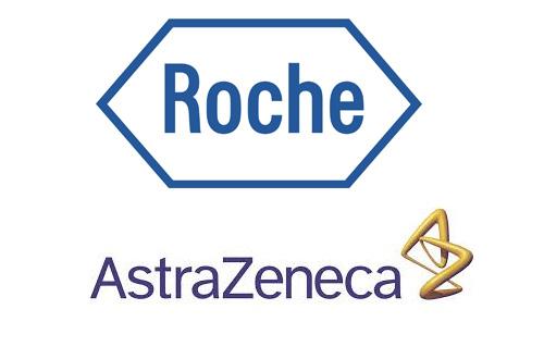 Roche AstraZeneca logos
