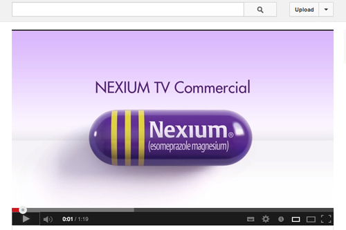 AstraZeneca AZ Nexium YouTube channel