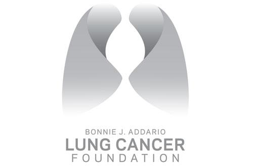 Lung cancer logo