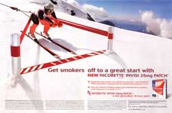 Nicorette invisi patch - Smoking cessation
