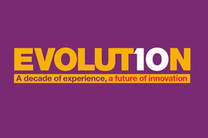 The 'Evolution' logo