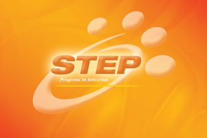 The 'STEP' logo