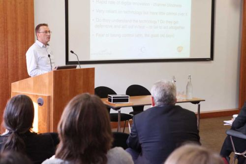 Presentation at the HCA Conference 2010