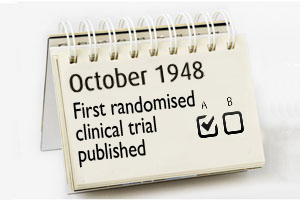 This month - randomise clinical trial