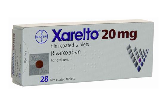 Bayer Xarelto rivaoxaban