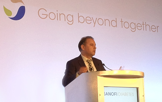 Pierre Chancel, Sanofi Diabetes - ADA meeting 2012