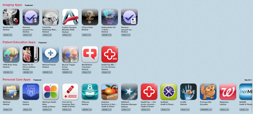Apple iTunes Store HCP apps