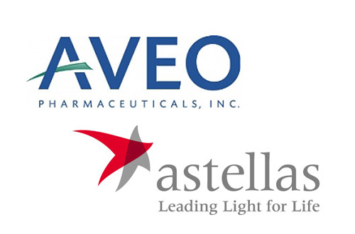 Aveo Astellas logo