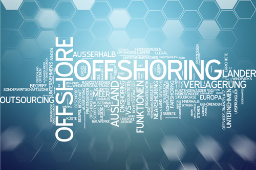 Offshoring data management
