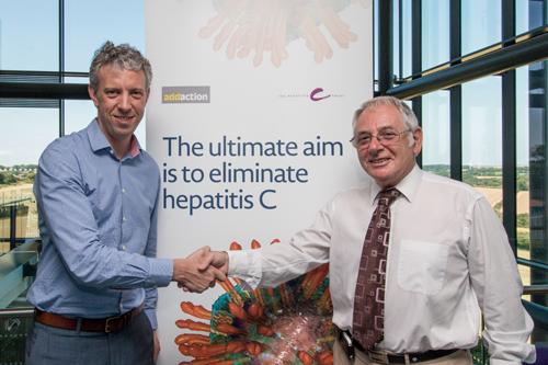 Hepatits C AbbVie NHS partnership