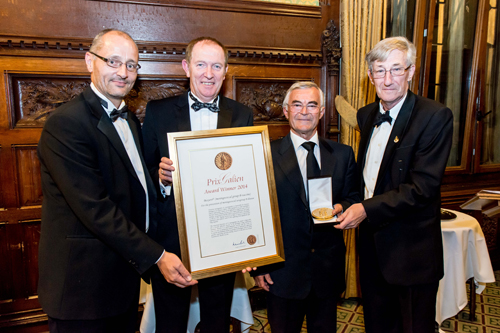 Novartis awarded 2014 UK Prix Galien for Bexsero