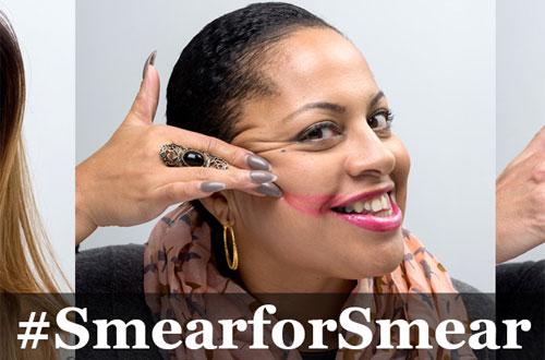 Cervical cancer #smearforsmear campaign