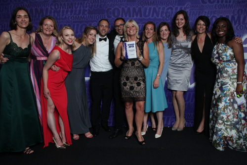 Lucid wins med ed consultancy award at Communiqué