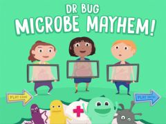 Dr Bug mobile game introduces kids to antibiotics, bacteria and viruses