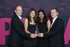 The EarthWorks wins PMEA Support Agency of the Year