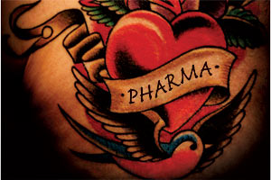 Pharma tattoo