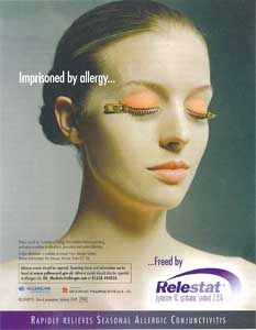 Relestat - seasonal allergic conjunctivitis