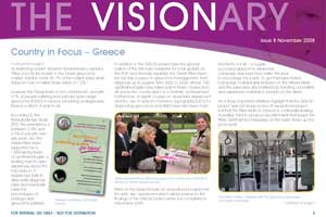 The Visionary newsletter