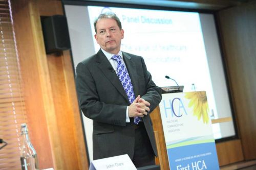 John Clare, LionsDen Communications, at the HCA Conference 2010