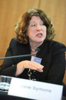Jane Symons at the HCA Conference 2010