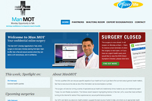 Pfizer's manMOT page
