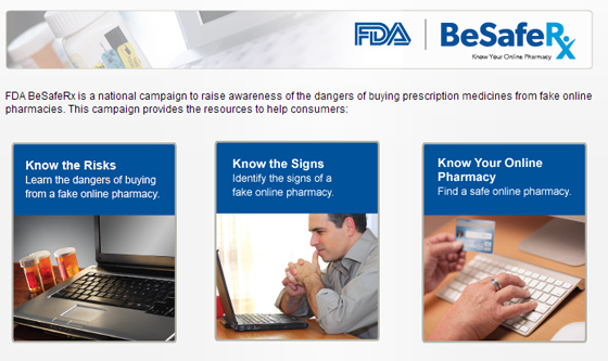 FDA BeSafeRx campaign