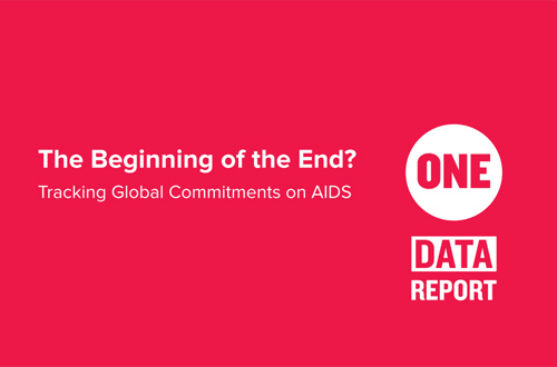 ONE AIDS report