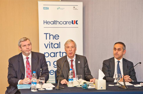 Healthcare UK launch