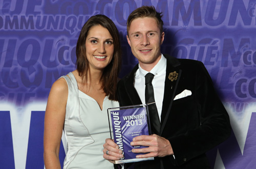 Communique 2013 winner young achiever - specialist in healthcare communications
